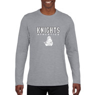 BCI Men's Long Sleeve Gildan Performance Tee - Grey (BCI-021-GY)