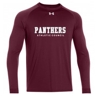 PHS Under Armour Men's Long Sleeve Locker Tee - Maroon