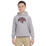 Maple Ridge Wildcats Youth Gildan Heavy Blend Pullover Hoody (MRW-001-GY)
