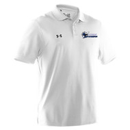 STA Under Armour Men's Performance Polo - White