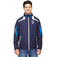 FBS Men's Impact Active Lite Colour Block Jackets - Nautical Blue/White (FBS-109-NW)