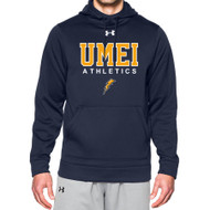 UMEI Under Armour Mens Storm Fleece Team Hoodie - Navy
