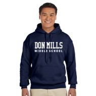 DMM Gildan Adult Heavy Blend 50/50 polycotton Hoodie - Navy