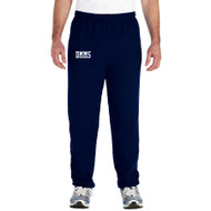DMM Adult Gildan Heavy Blend 50/50 Open Bottom Sweatpant - Navy