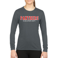 GPS Gildan Performance Women's Long Sleeve T-Shirt - Charcoal