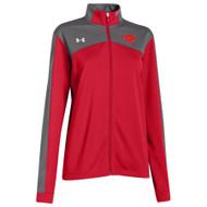 GPS Under Armour Women's Futbolista Jacket - Red