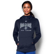 OLL Under Armour Women's Storm Fleece Hoody - Navy (OLL-021-NY)