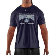 OLL Under Armour Men's Short Sleeves Locker Tee - Navy (OLL-003-NY)