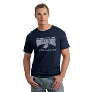 OLL Gildan Men's SoftStyle Cotton T-Shirt - Navy (OLL-013-NY)