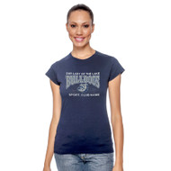 OLL Gildan Softstyle Junior Fit Ladies T-Shirt - Navy