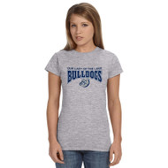 OLL Gildan Softstyle Junior Fit Ladies T-Shirt - Grey