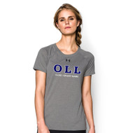 OLL Under Armour Short Sleeve Women's Locker Tee - Grey (OLL-024-GY)