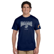 OLL ONE Club Gildan Ultra Cotton Men's T-Shirt - Navy (OLL-015-NY)