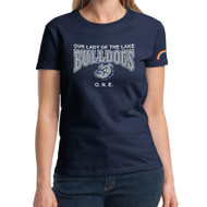 OLL ONE Club Gildan Ultra Cotton Women's T-Shirt - Navy