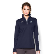 OLL Under Armour Women's Qualifier 1/4 Zip - Navy (OLL-026-NY)