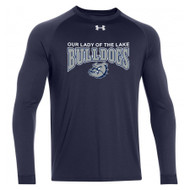 OLL Under Armour Men's Locker Long Sleeve - Navy