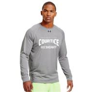 CSS Under Armour Men's Locker Long Sleeves T-Shirt - True Grey