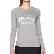 CSS Under Armour Women's Long Sleeve Locker Tee - True Grey