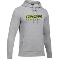 CSS Under Armour Men's Hustle Fleece Hoody - True Grey (CSS-003-GY)