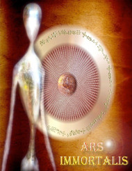 Ars Immortalis Tablet teaches you how to decode the immortal broadcasts that dominate your thought.  Ars Immortalis is a vibrant, active, and powerful region of consciousness that holds a vital key to unlocking your spiritual growth and ascension.  With the right focus and attention on the tablet keys in the Ars Immortalis, you will greatly accelerate the growth of your consciousness.