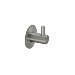 Small Stainless Steel Coat Hook 241-657 from A4Forty