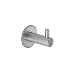 Polished Stainless Steel Coat Hook 241-660 from A4Forty
