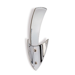 A4Forty Triple Prong Coat Hook in Polished Chrome - 242-783