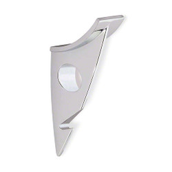 A4Forty Coat Hook 242-483 - Polished Chrome - Double Prong