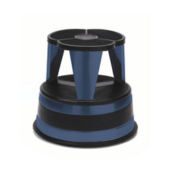 Cramer Kik Step - Blue - Rolling Step Stool - 1001-63