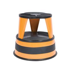 Cramer Kik Step - High Visibility Orange - Rolling Step Stool - 1001-30