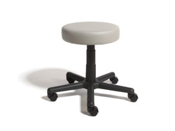 Cramer Round Stool - Hand Activated - Grade 5 Cleanroom RSOD-V5