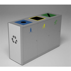 Magnuson Umea Triple 40 Gallon Receptacle UMEA-30