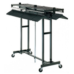 Magnuson Mega Rak MR611H Folding Rolling Coat Rack