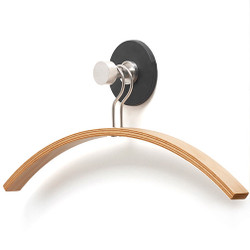 Magnuson Magnetic Coat Knob with Beech Coat Hanger T-HKM