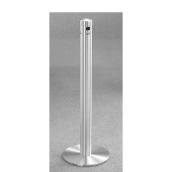 Glaro Smokers Pole 4403SA - Free Standing - Satin Aluminum