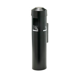 Glaro Wall Mounted Smoking Post 2401BK