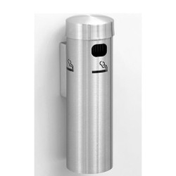 Glaro Smokers Pole 4401SA - Wall Mounted - Satin Aluminum