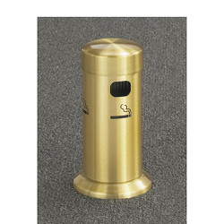 Glaro Smokers Pole 4405BE - Tabletop - Satin Brass
