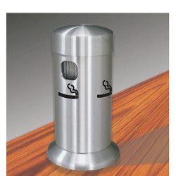 Glaro Smokers Pole 4405 SA - Tabletop - Satin Aluminum
