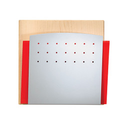 Peter Pepper 4001H Chart Holder with Maple Back and Aluminum Metallic Front