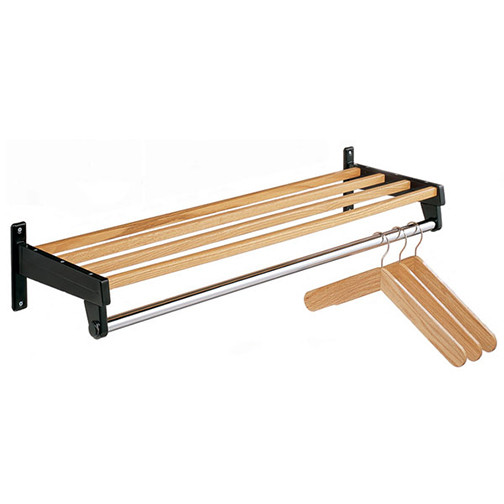 DS 4HO Wall Mounted Wood Coat Rack by Magnuson