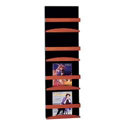 Peter Pepper 4034 Magazine Rack - Wall Mount - 4 Pockets