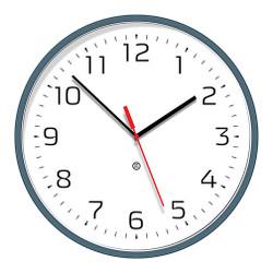 Peter Pepper Wall Clock 820-39