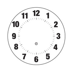 Peter Pepper Clock Face 07