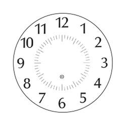Peter Pepper Clock Face 14