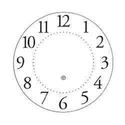 Peter Pepper Clock Face 35