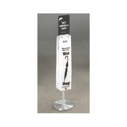 Glaro Umbrella Bag Stand FVBS11SA with Bags and Optional Sign