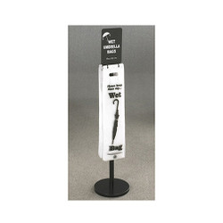 Glaro Umbrella Bag Stand FVBS11BK with Optional Sign