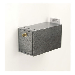Glaro Drop Box W1055 - Wall Mounted