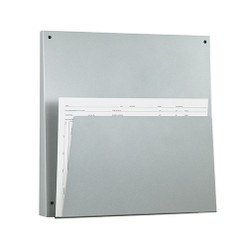 Peter Pepper Wall Mounted Magazine Rack 4141-QS - Front Angle